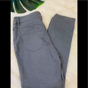 CHICOs Casual 5 Pocket Gray Ankle Pants